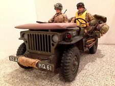 """21ST CENTURY 1/6 WWII 1941 U.S. WILLYS JEEP  """"82nd AB COMBAT VEHICLE""""  #20321727"""