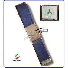 Cintura Canapa Blu Protezione Civile Volontari Nazionale Vetrificata Art.CIN8
