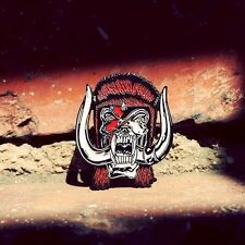 A Unique David Bowie & Motorhead's Lemmy Pin Badge 'Bowiehead' Made In USA.
