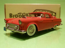 BROOKLIN MODELS BRK 19 FORD THUNDERBIRD 1956 - RED - 1:43 - NMIB
