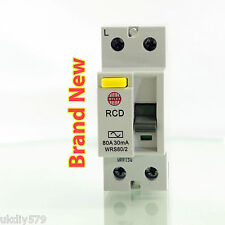 Wylex RCD 80A 30mA RCD WRS80/2 230V 2 Pole * Free Delivery & VAT Included *