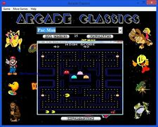 Arcade Classics 1500 + Games for Windows XP, Vista, 7, 8, 10 on DVD