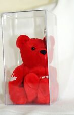 Salvino's Bammers WAYNE GRETZKY 99 Red Canadian Bear Embroidered Display Box