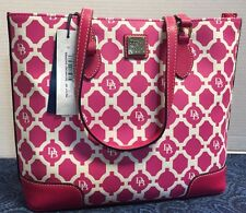 ~NWT~Dooney & Bourke*HOT PINK* Sanibel Richmond Shopper*Tote*Shoulder Bag*