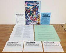 Lot of 8 ~ 2003 Transformers Botcon Program Guide Contest Hasbro Panel Ballot