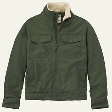 Timberland Men's Brookfield Mountain Olive Green Cotton Bomber Jacket 8143J. XL