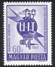Hungary 1965 ITU-UIT/Radio/Telecomms/Communications 1v (n39945)