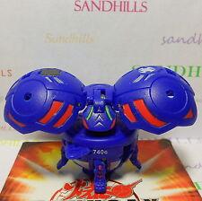 Bakugan Farakspin Blue Aquos Gundalian Invaders DNA 740G & cards