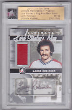 11-12 ITG Larry Robinson /14 Auto Jersey Ultimate Lord Stanley's Mug 2011