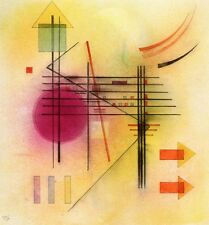 Vibrant - Wassily Kandinsky -1928, Classic Artwork, A4 Poster