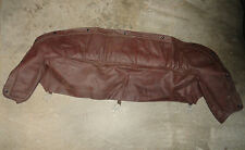 NOS Triumph Spitfire Brown Boot Cover ---