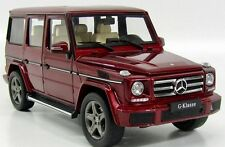 NEW LLEGADA iScale Mercedes Benz G Clase W463 - 2015 Thulit Rojo 1/18 B66961011