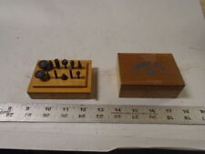 MACHINIST TOOLS LATHE MILL Set of Grobet Rotary Burs in Case Watchmaker Jeweler