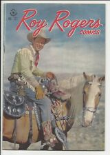 1947 Dell Four Color FC #177 Roy Rogers VF File Copy?
