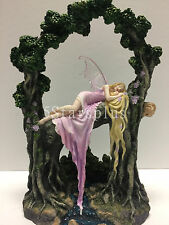 Rockabye by Selina Fenech Fairy on Tree sculpture Statue Figure