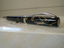 Visconti Opera Giorgio Fedon black and butter swirls ballpoint pen MIB