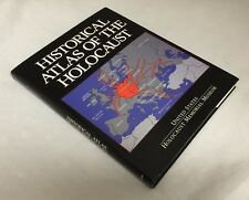 1996 1st Print Historical Atlas of the Holocaust 230 WWII Maps HBDJ