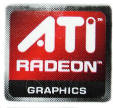 ATI RADEON GRAPHICS  STICKER LOGO AUFKLEBER 16x15mm (238)