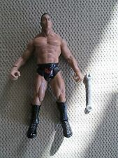 WWE WWF RINGSIDE CHAOS SERIES 3 THE ROCK 2001(LOOSE)TRON READY