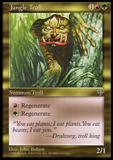 MTG JUNGLE TROLL - TROLL DELLA GIUNGLA - MRG - MAGIC