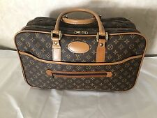 LOUIS VUITTON Vintage Suitcase Luggage Travel Bag French Co Made in USA 20x12x9
