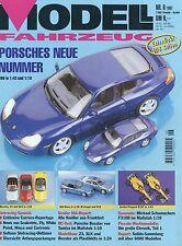 Zeitschrift Modell Fahrzeug 6 1997 BMW Z3 McLaren F1 Porsche 996 Goggomobil