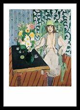 Henri Matisse la table noire poster image Art pression dans le cadre alu en noir