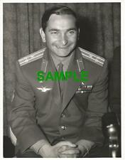 ORIGINAL PRESS PHOTO RUSSIAN COSMONAUT VALERY BYKOVSKY OF VOSTOK-5 1967