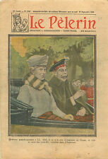 King George V & Mary of Teck Queen of England Scotland Écosse 1930 ILLUSTRATION