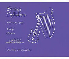 String Syllabus Vol. 2: For Harp and Guitar by American String Teachers...