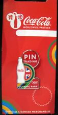 2012 very rare LONDON Olympic Park LIMITED Coke Pin Trading pin