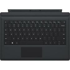 Official Microsoft Surface Pro 3 Type Keyboard Cover Black Genuine OEM VG