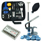 Watch Repair Tool Kit Case Opener/Hand Remover/Spring Bars/Case Press LOT