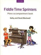 Violín tiempo los velocistas acompañamiento de piano