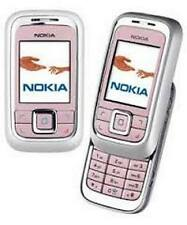 PINK NOKIA 6111 SLIDE MOBILE PHONE - UNLOCKED WITH A HOUSE CHARGER AND WARRANTY