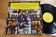 Bruckner Te Deum/Gloria/Salmo 150 BPO Jochum LP DGG 139399