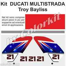 Kit replica troy Bayliss per Ducati Multistrada by Colorkit