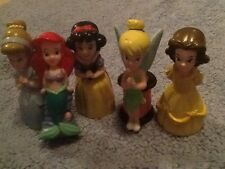 Disney Princesses Tinkerbell Mermaid Collectible Figurines Pvc Plastic Cake Top