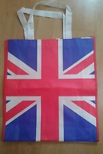 UNION JACK BAG FABRIC TOTE SHOPPERS BAG FOR LIFE UK LARGE FLAG BRITISH SOUVENIR