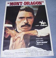 Affiche de cinéma : MONT-DRAGON de JEAN VALERE