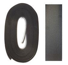 guaina adesiva nero gravado per canne da pesca manico canna antiscivolo