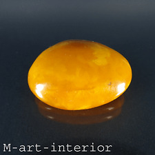 Antik Butterscotch Bernstein Brosche Natural Baltic Amber Brooch 19./20. Jh.