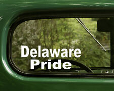 Delaware Sticker Decal (2) Native American for Car, Laptop, Truck