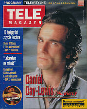TELE MAGAZYN 98/17 (17/4/98) DANIEL DAY-LEWIS BEVERLY HILLS 90210 LUKE PERRY