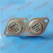 1pair  Audio Transistor SONY TO-3 2SJ18/2SK60 J18/K60 100% Genuine and New