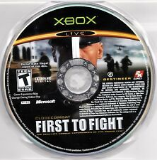 Close Combat: First to Fight (Microsoft Xbox, 2005) Game Disc Only