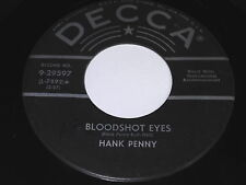 Hank Penny: Bloodshot Eyes / A Letter From Home 45 - Rockabilly