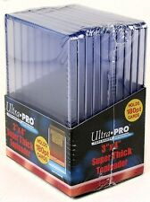Case of (500) ~ Ultra Pro Super Thick Clear Rigid Top Loaders ~ 180pt ~ New!