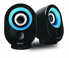 Philips SPA-50 2.0 speaker with USB Plug (Blue)