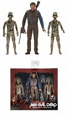NECA ASH vs EVIL DEAD BLOODY ASH vs DEMON SPAWN ACTION FIGURE 3 PACK SET
